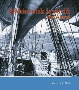 Pärmbild för Sjöhistorisk Årsskrift för Åland nummer 30