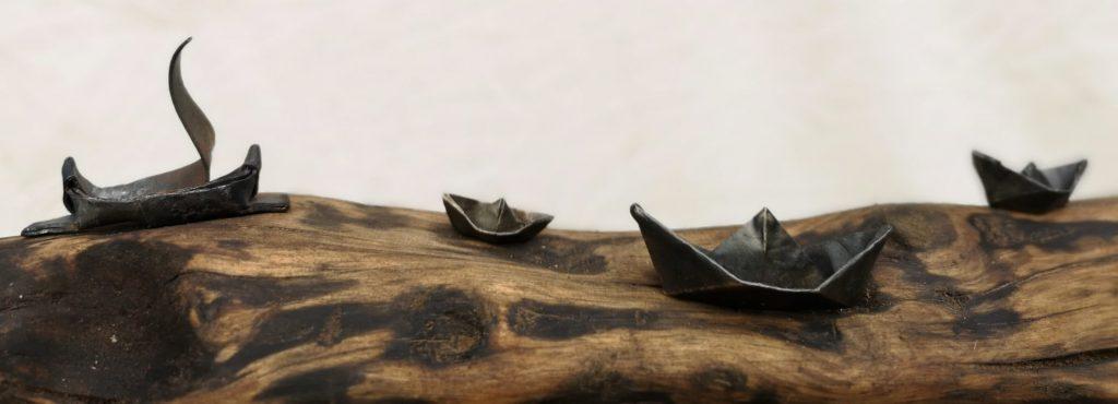 Båtar i metall